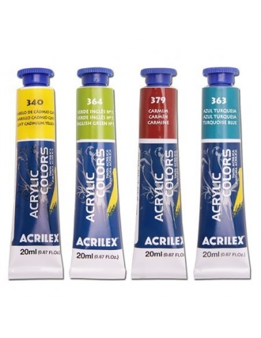 Pintura Acrylic Colors 20ML, ACRILEX