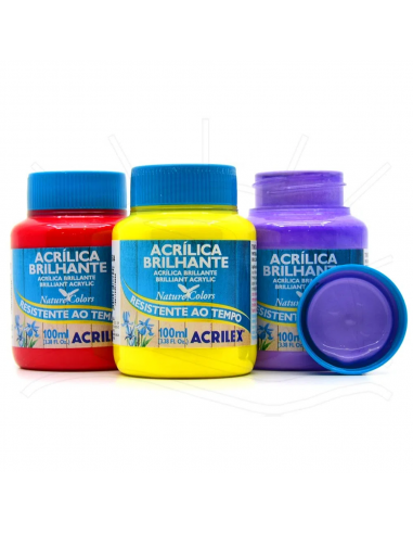 Pintura Acrílica Brillante 100ML,...