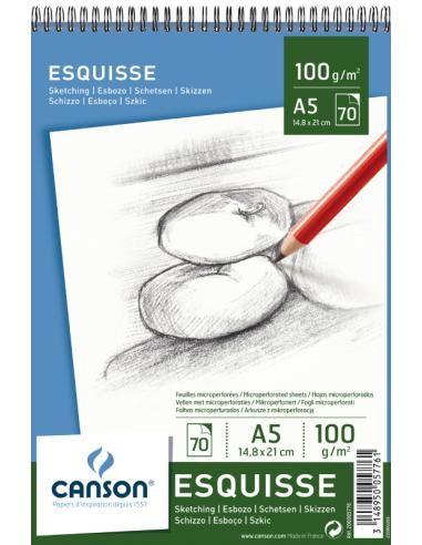 Block dibujo Esquisse A5, Canson