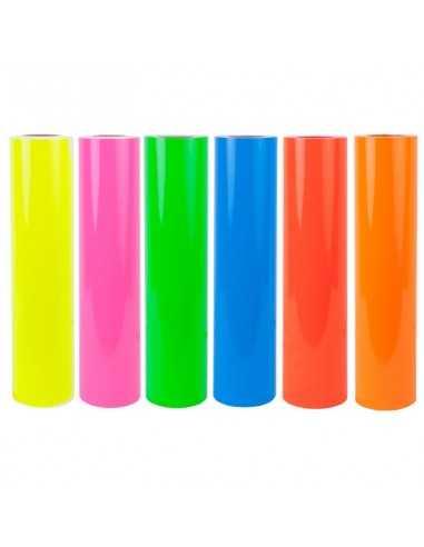 Vinil adhesivo fluorescente por...