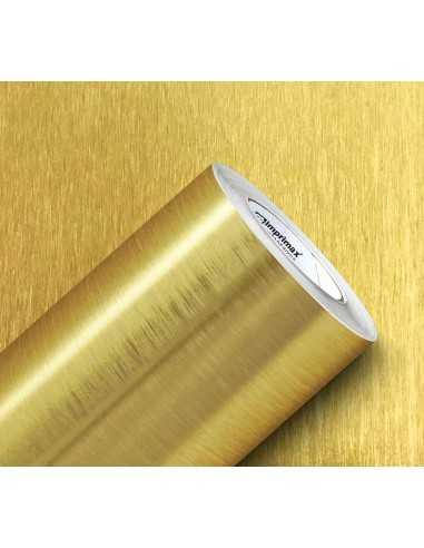 Vinil Gold Max metálico cepillado oro...