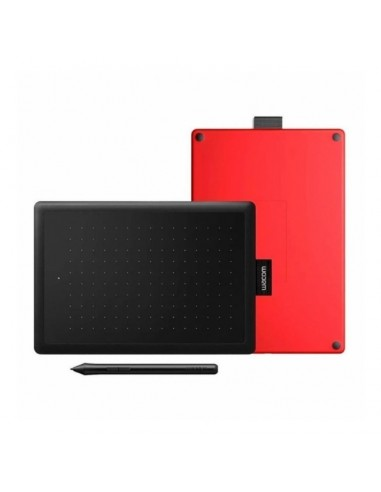 Tablet One Wacom Negra y Roja CTL-472/K1-AX