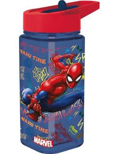 Botella cuadrada SPIDERMAN