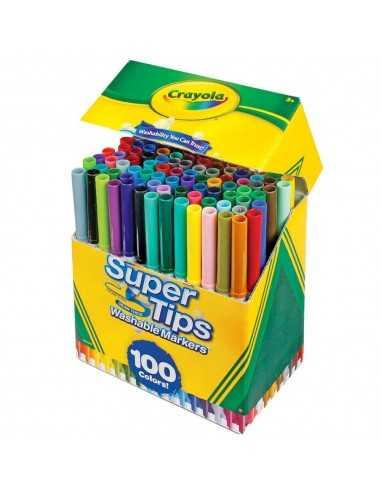 Set 100 super tips, Crayola