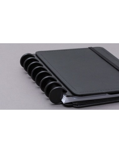 Accesorios discos + elásticos negros...
