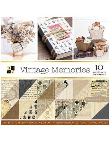 Bloc de papel - Vintage Memories...