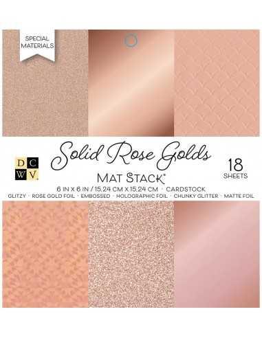 Bloc de papel- Solid Rose Golds...