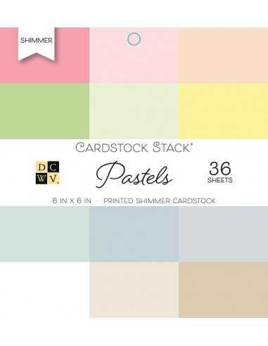 Bloc de papel- Shimmer Pastels,...